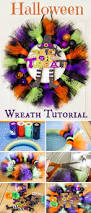Do It Yourself Halloween Crafts by Best 25 Halloween Tulle Wreath Ideas Only On Pinterest Wreath