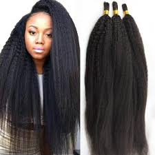 crochet braids with human hair amazon com atina hair kinky straight bulk human hair for