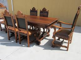 Antique Dining Room Table by Antique Dining Set Table Armchairs Side Chairs Antique Furniture