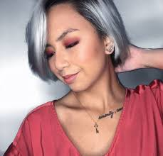 looking with grey hair the surprising and most popular hue for under 30s