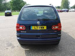 volkswagen sharan estate 2000 2010 driving u0026 performance parkers