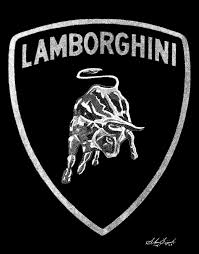 lamborghini logo engravings lamborghini logo dots
