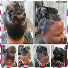 pin up hairdos long black hair pin curl updo shekinah glory hair designs pinterest pin curl
