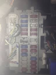 nissan altima sl i need a detailed fusebox diagram for a 2004