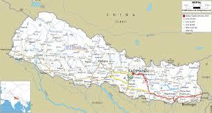 Nepal World Map Details Shorter New Route To Kathmandu Nepal Team Bhp