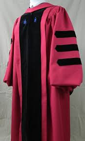 pink cap and gown doctoral by cap gown