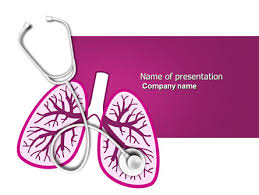 powerpoint design lungs human lungs powerpoint template backgrounds 04078