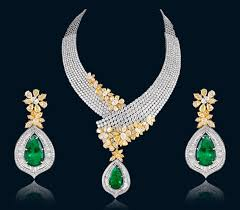 designer diamond sets designer diamond necklace in india jewllery collection
