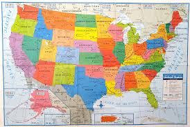 state map superior mapping company united states poster size