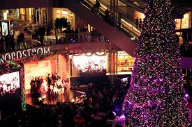 christmas tree lightings and shopping events in los angeles 2016