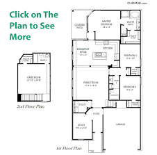 Floor Plans For Two Story Homes Courtney Plan Chesmar Homes Houston