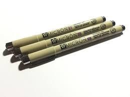 fine liner pen shootout u2013 a comparison of fine liner pens on the