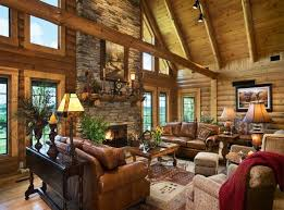 Gorgeous Homes Interior Design 4 Gorgeous Homes With Matte Black Walls Log Homes Interior