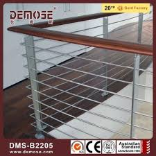 Stainless Steel Stair Handrails Decorative Stainless Steel Wood Handrails Design Stainless Steel