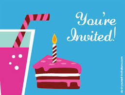 printable postcard invitations make your own postcard party