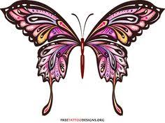purple butterfly meaning tattoos designs for cool