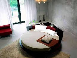How To Make A Cheap Platform Bed Frame by Apartments Captivating Cool Round Beds Design Ideas For Your