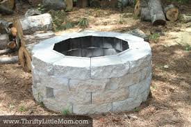 Making Fire Pit From Washer Tub - 17 backyard diy fire pit ideas that will quickly impress