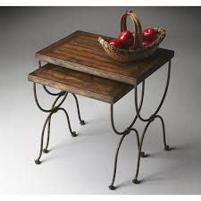 butler specialty nesting tables butler specialty mountain lodge nesting tables 1278120