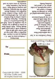 layered dog cookies in a jar dog biscuits jar mix recipe i used