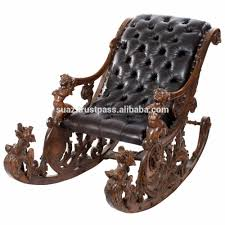 Living Room Jhula Luxury Wooden Swing Chair Room Carved Jhula Chair Antique Heavy