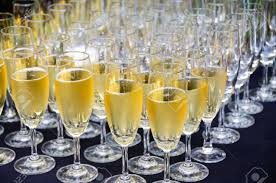 wedding toast chagne glasses ready for wedding toast stock photo picture and