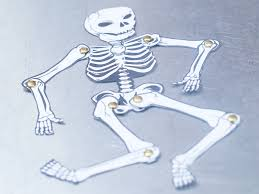 Halloween Crafts Made Out Of Paper by Make A Human Skeleton Out Of Paper Human Skeleton Skeletons And