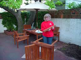 Teak Patio Chairs Decor Alluring Smith And Hawken Teak Patio Furniture Back From