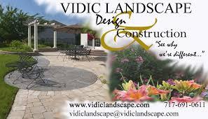 Landscape Business Cards Design Landscaping Design Construction Pdf