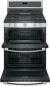 Kitchenaid Gas Cooktop Accessories Ge Pgb960sejss 30 Inch Freestanding Double Oven Gas Range With