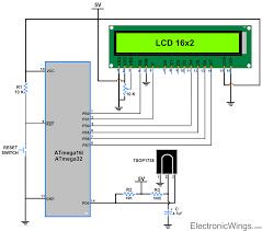 ir communication using avr atmega16 atmega32 electronicwings