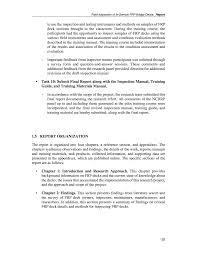 part ii report field inspection of in service frp bridge decks