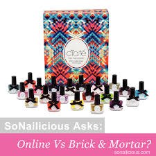 do you buy nail polish online or in a store