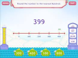 round to the nearest hundred worksheets third grade math