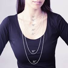 necklace lengths image images Choose the optimal chain length for your necklace mynamenecklace jpg
