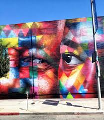 kobra new mural on n highland ave in los angeles usa second street art mural by brazilian painter eduardo kobra in los angeles usa 5