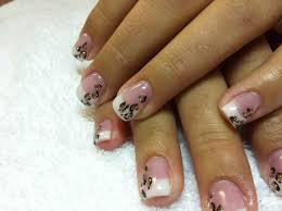 14 french tip gel nail designs 15 gel french pink nail art