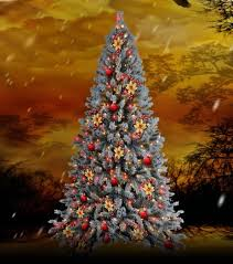 musical brown christmas tree second marketplace musical christmas tree blue spruce
