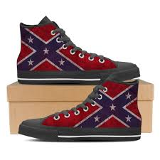 Confderate Flag Confederate Flag Shoes U2013 Groove Bags