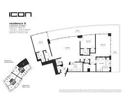 Icon Floor Plan by Icon In South Beach Floor Plans Iconsouthbeachcondosforsale Com