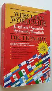 webster u0027s worldwide dictionary english spanish spanish english