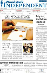 the woodstock independent november 20th 2013 by woodstock
