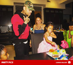 brown birthday party chris brown throws best 3rd birthday party for royalty