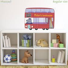 personalised glorious britain peppa pig bus wall sticker personalised glorious britain peppa pig bus wall sticker