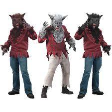 Wolfman Halloween Costume Werewolf Costume Ebay