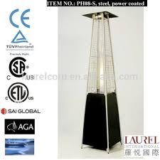 Glass Tube Patio Heater Good Quality Pyramid Glass Tube Flame Outdoor Portable Propane