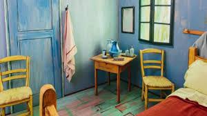 la chambre de vincent gogh la chambre à coucher de gogh sur airbnb cnewsmatin fr