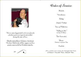 funeral programs order of service 30 images of funeral order of service template blank infovia net