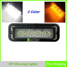 sale 4 led truck warning lights auto car strobe emergency