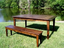 handmade reclaimed wood acadian style tables cypress by joseph